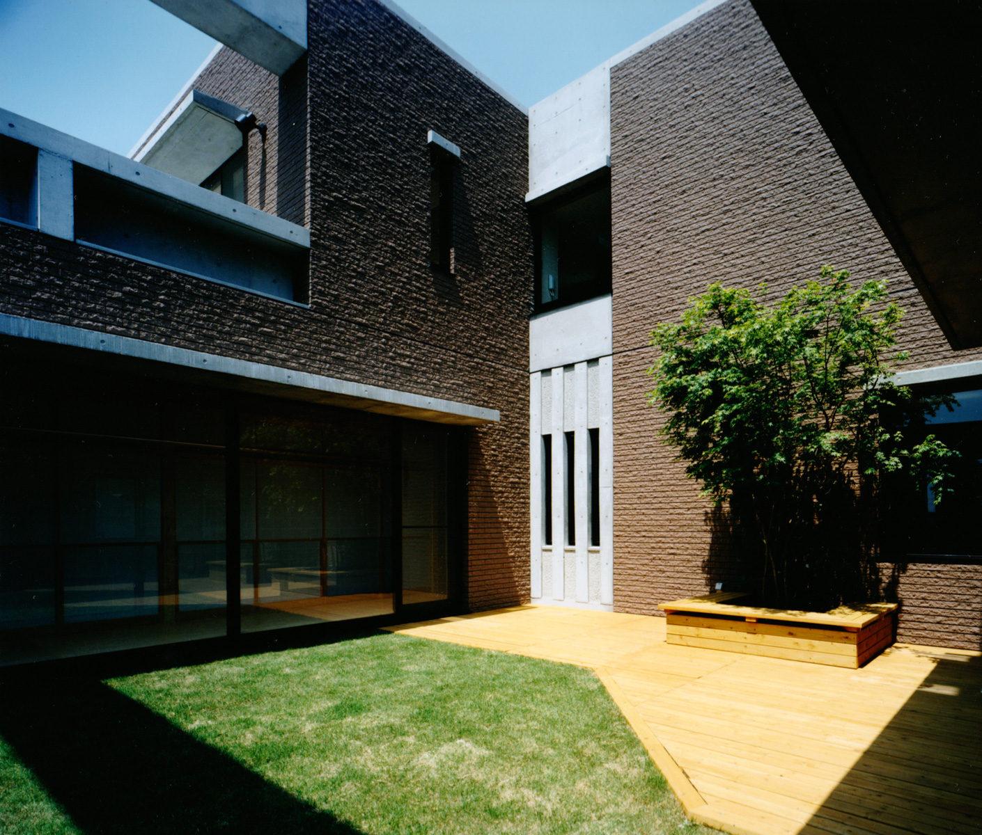 鎌倉 U邸 中庭2