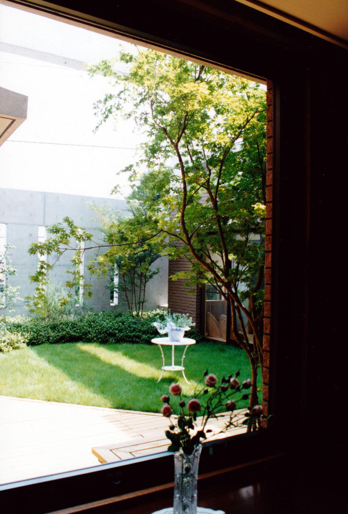 鎌倉 U邸 中庭3