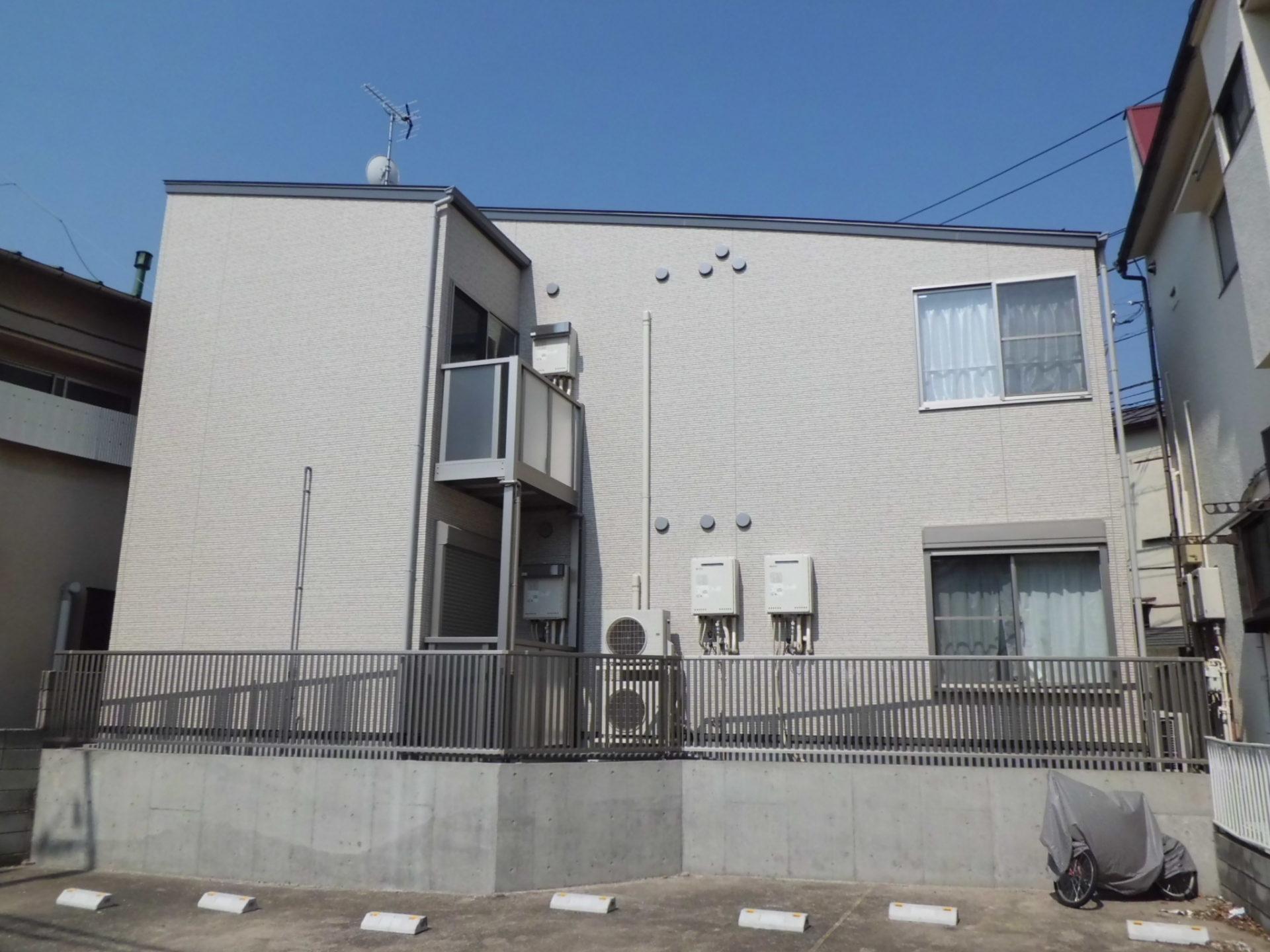 高円寺 Iアパート 外観2