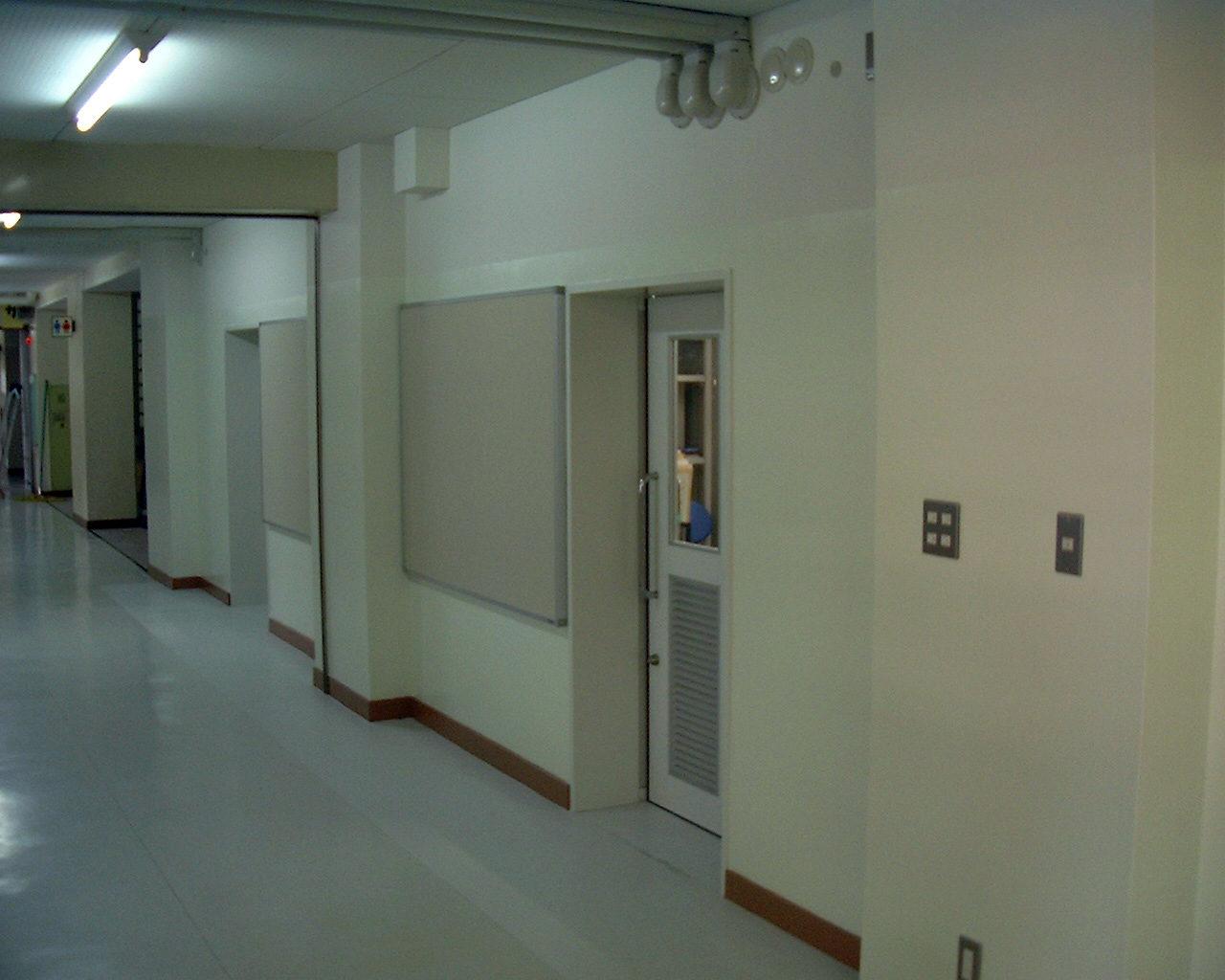西原小学校内部改修工事