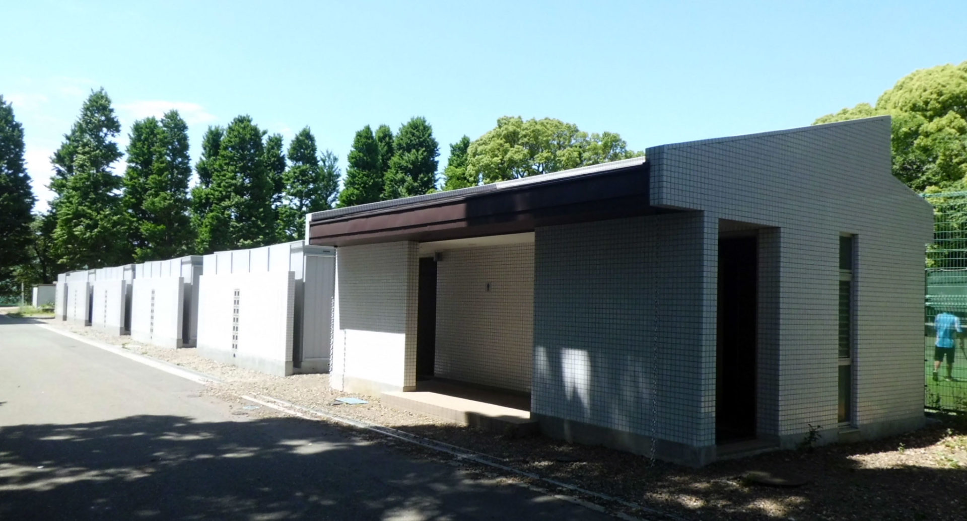 東京大学駒場 屋外トイレ